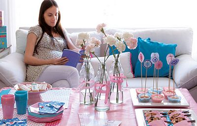 Decorar la casa para un baby shower 1