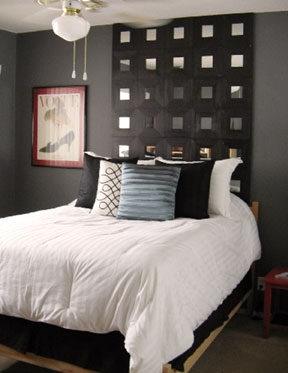 cabecero con espejos ikea dec ralos. Black Bedroom Furniture Sets. Home Design Ideas