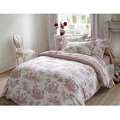 toile de jouy en decoraci n de interiores dec ralos. Black Bedroom Furniture Sets. Home Design Ideas