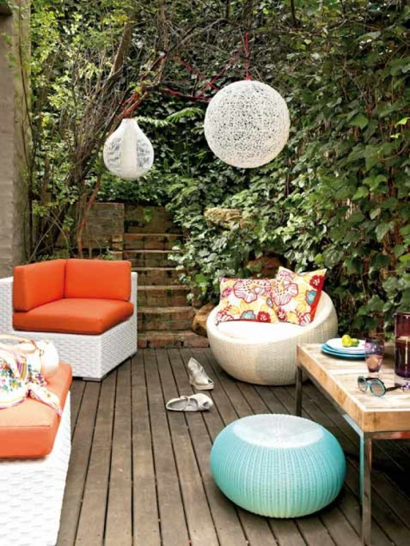 Grandes ideas para decorar tu patio parte iv dec ralos - Como decorar un patio exterior ...