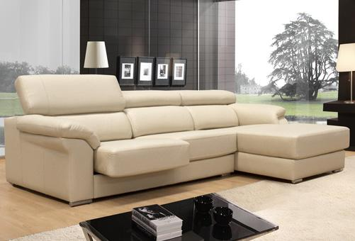 Muebles pr cticos para decorar tu sal n parte ii dec ralos for Sofas de piel con chaise longue