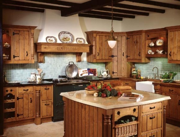 Cocinas de estilo country elige la que m s te guste for Muebles estilo country