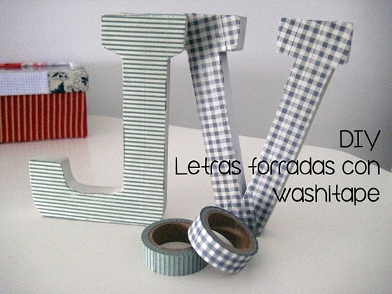 Decorar con letras de madera dec ralos - Letras para decorar ...