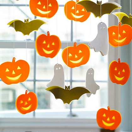 Ideas de manualidades decorativas para Halloween 1