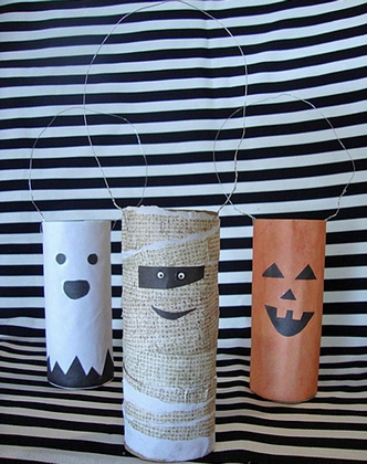 Ideas de manualidades decorativas para Halloween 3