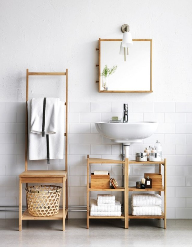 Originales ideas para decorar un ba o dec ralos - Scaffali ikea bagno ...