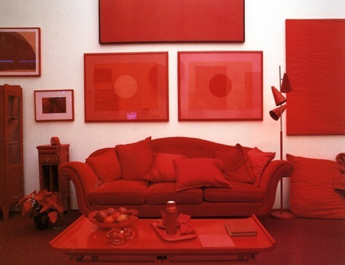 Decoracion En Gris Y Rojo ~   Decoraci?n de interiores ? Ambientes rojos ideas y tendencias