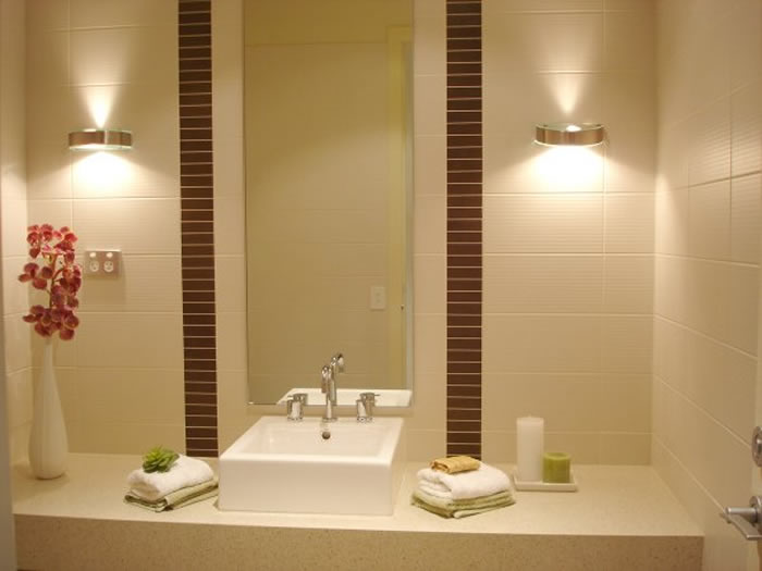 Iluminacion Baño Consejos:Bathroom Lighting Fixtures Ideas