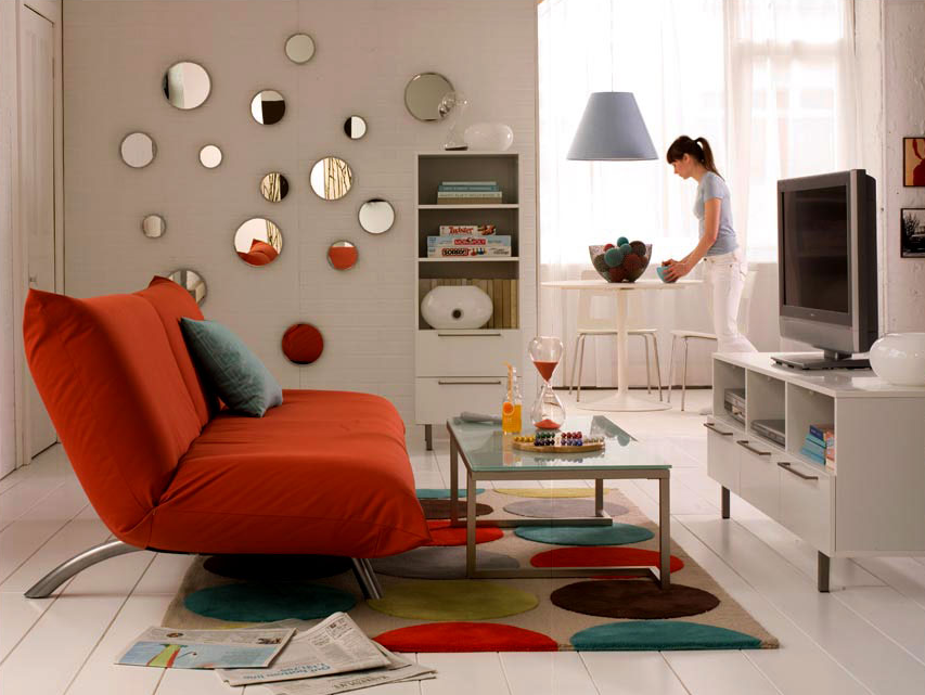 ideas tiles para ordenar y decorar el living de tu casa On adornos para muebles de living