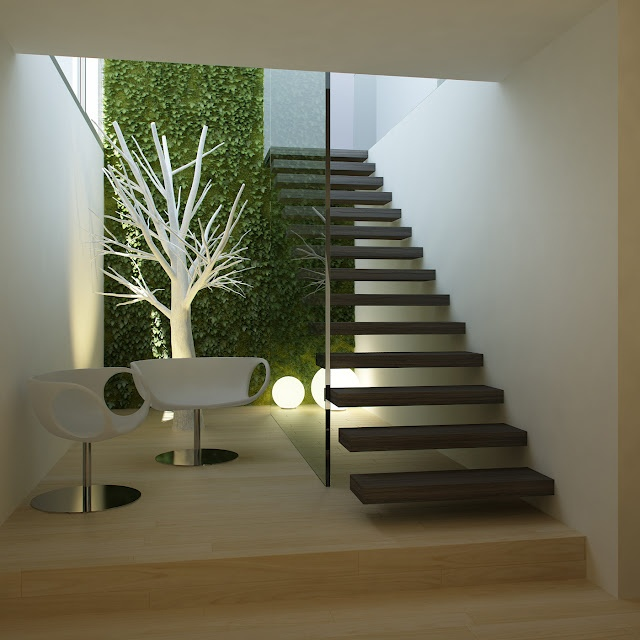 C mo dise as una escalera de interior dec ralos for Escaleras modernas para casa