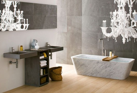 Diseno De Baños Largo:Bathroom Design