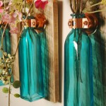 Reciclado: decorar con botellas de cristal